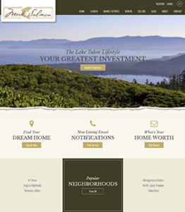 South Lake Tahoe Real Estate Website Launch